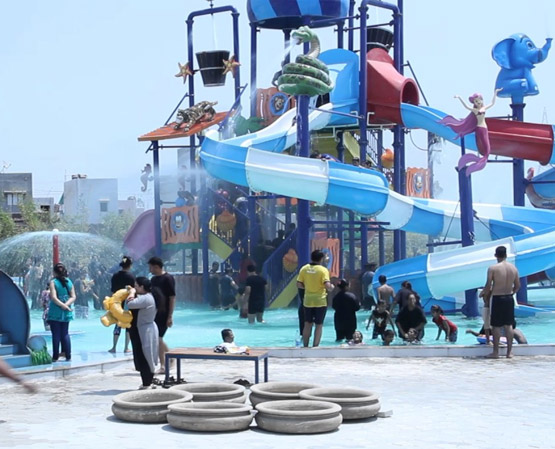Water Park Only For Couples and Family